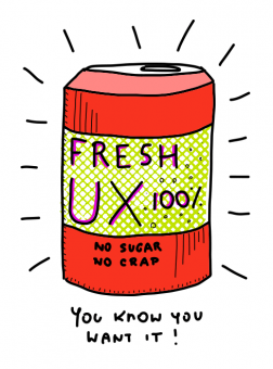 Canned UX, delivered frequently to an email near you!